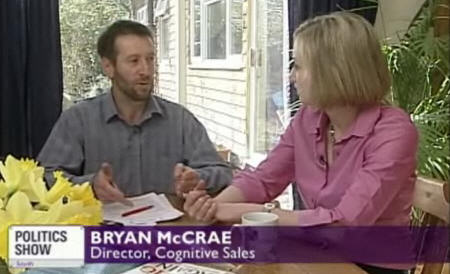 Bryan McCrae on BBC 1 coaching in Sales Psychology